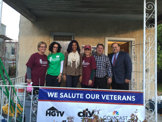 Veterans Day with Comcast/Scripps Networks