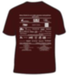 Back of Volunteer tshirt