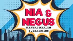 Nia & Negus Mental Health Super Twins Art Contest