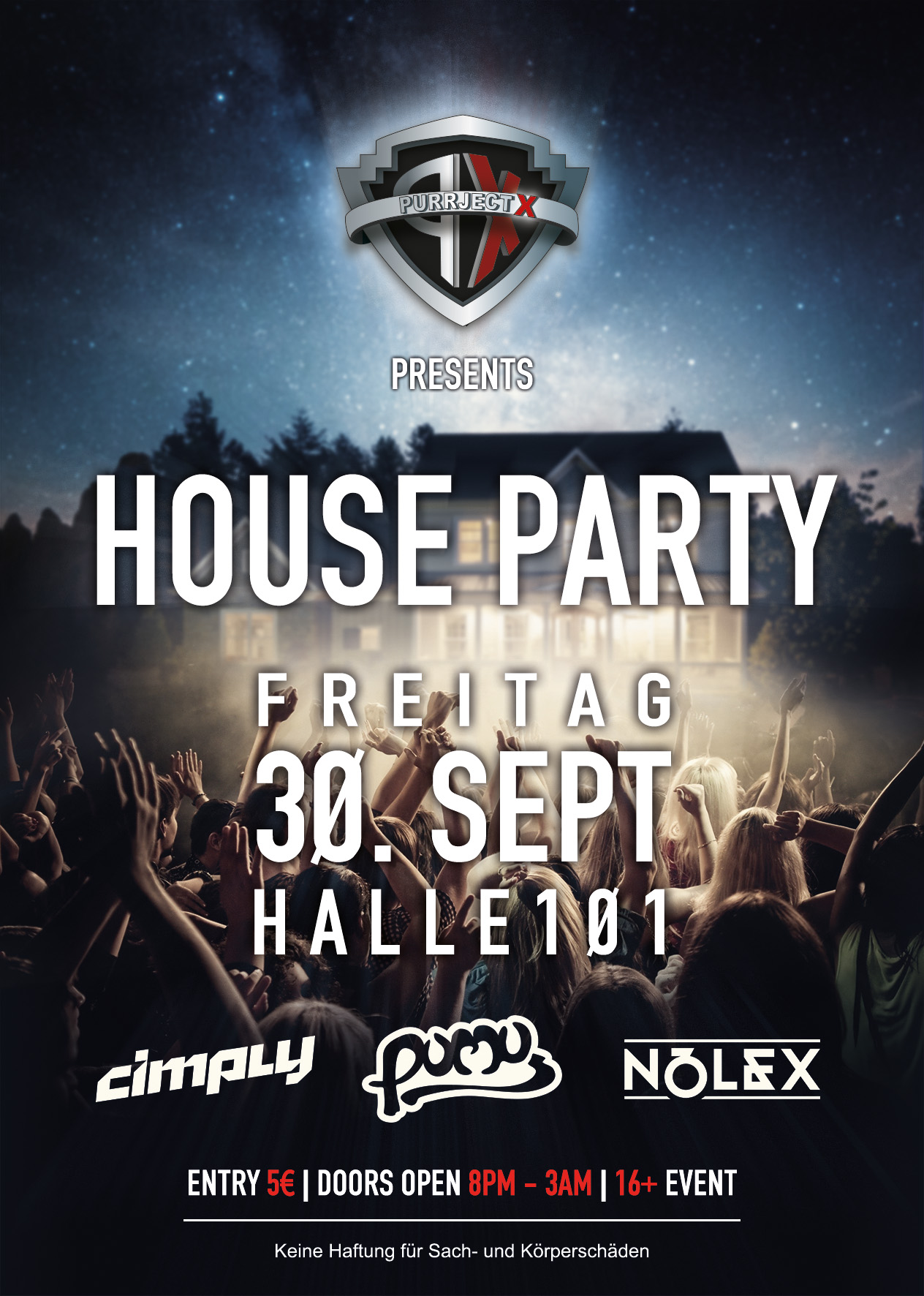 PURRject X - House Party