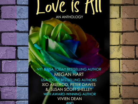 Release Day for LOVE IS ALL!