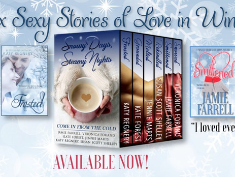 Release Day! Snowy Days, Steamy Nights