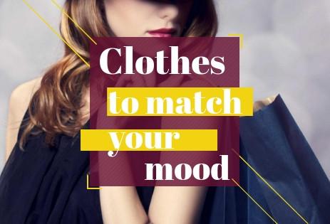 Color, mood, & clothes - A Spice Aisle Post