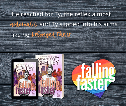 Falling Faster | Susan Scott Shelley