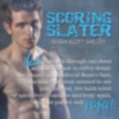 Scoring Slater | Susan Scott Shelley
