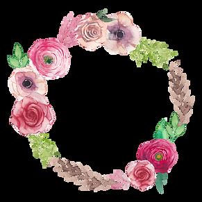 Couronne de fleurs 5