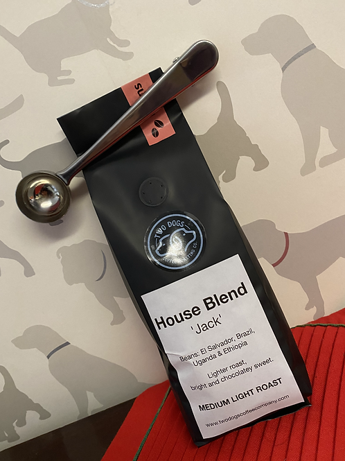 Coffee Bag clip/Measure spoon