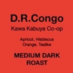 Set of 6 D.R. Congo single drip bags.