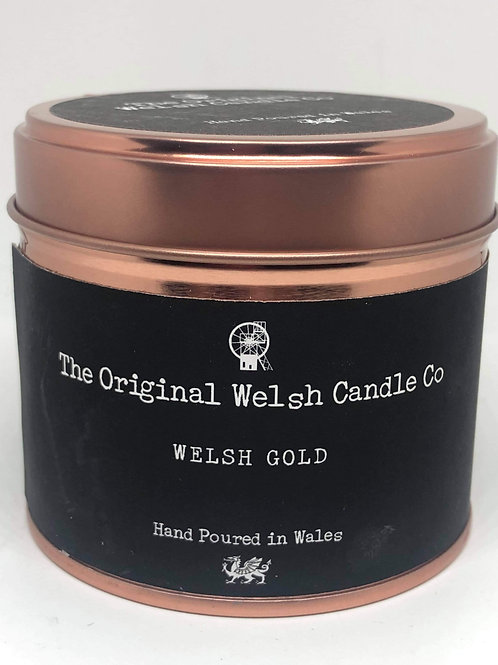 Welsh Gold Candle