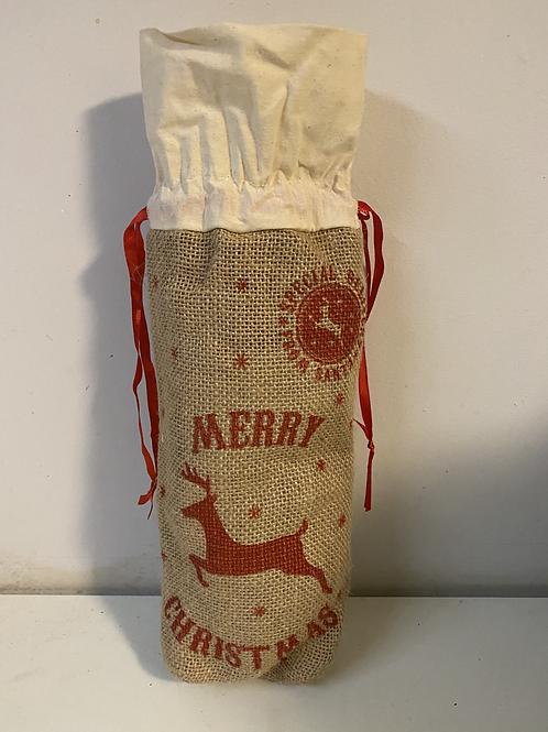 Hessian Coffee Gift Bag