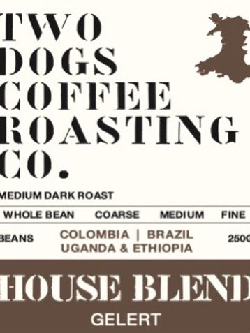 Two Dogs House Blend Coffee (Dark)