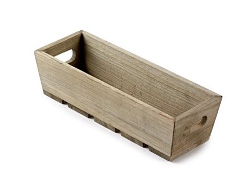 Small Wooden Gift Trough
