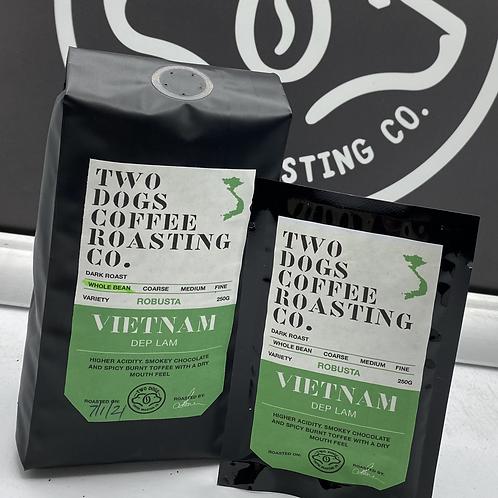Vietnam drip coffee bags.