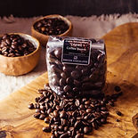 Dark Chocolate Covered Coffee Beans - Brecon Chocolates & Two Dogs Coffee