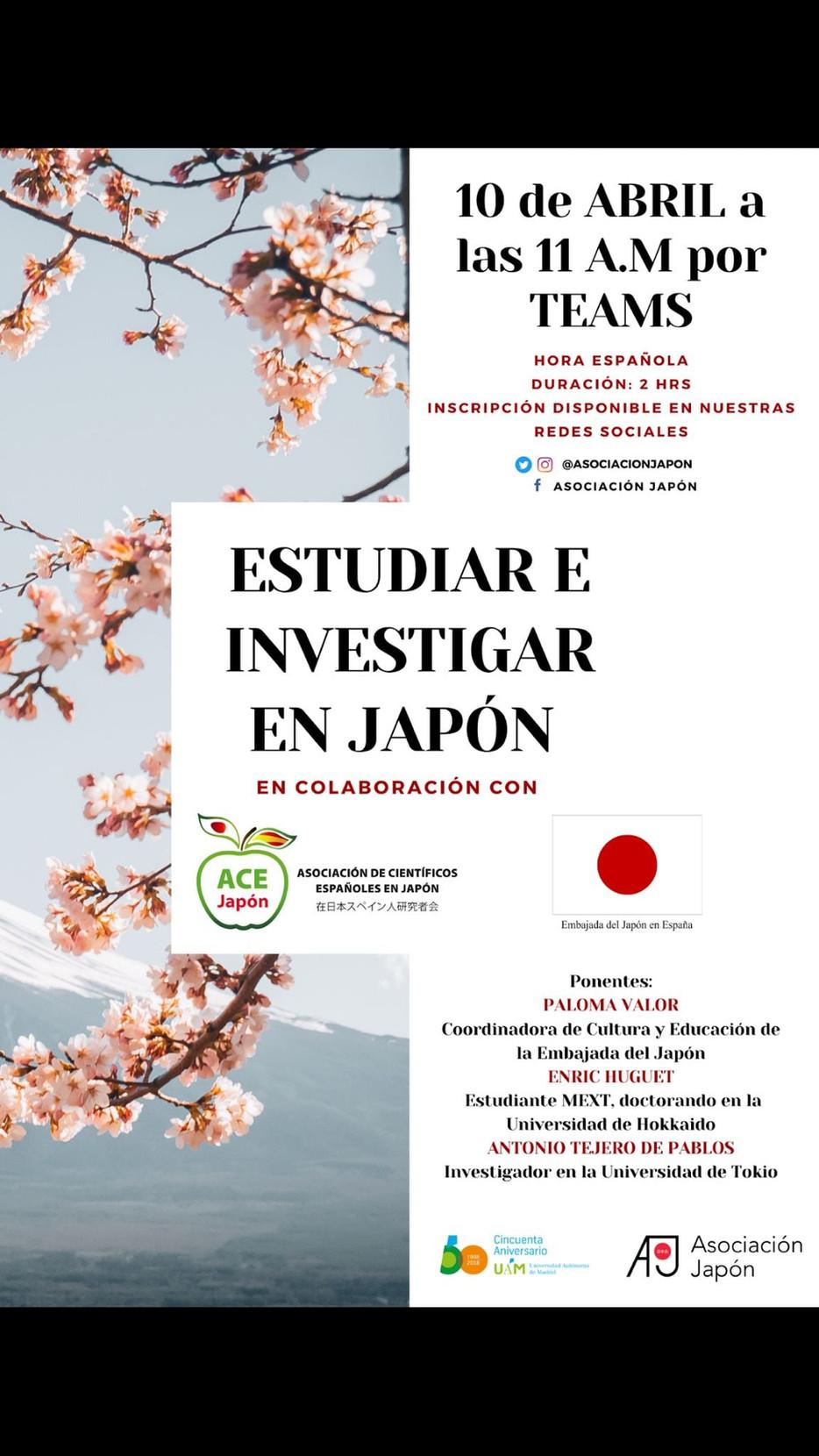 Estudiar e Investigar en Japón