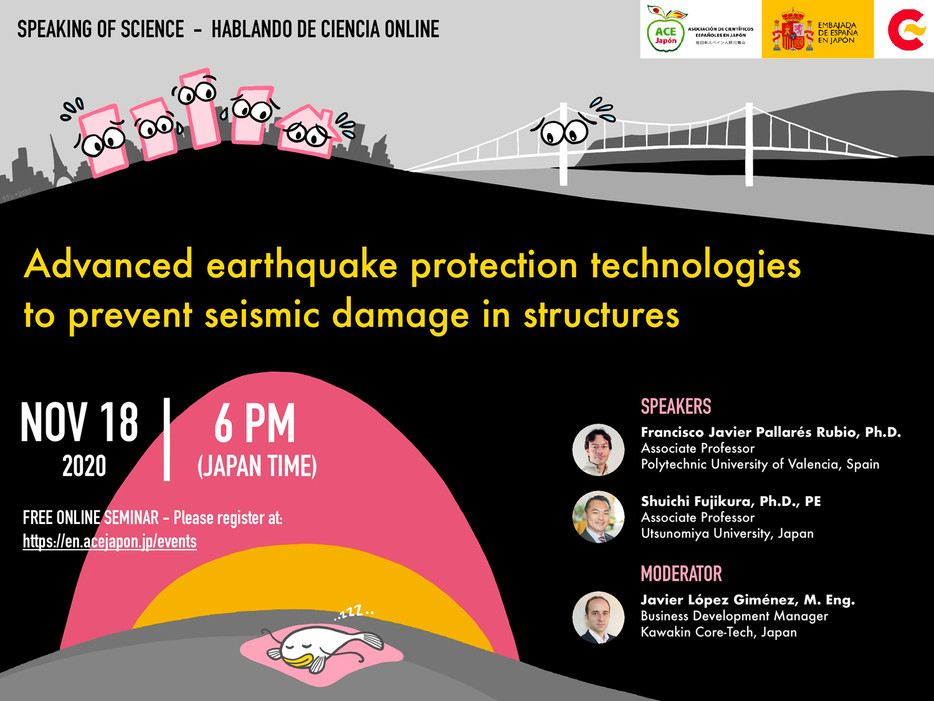 Hablando de Ciencia (online)Seismic Isolation Technologies to Protect Structures Against Earthquake