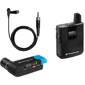 sennheiser AVX-ME2 wireless mic hire london