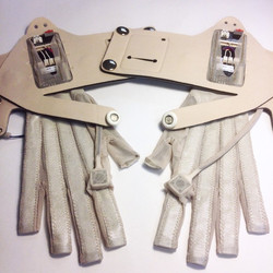 Ariana Grande custom Mi.Mu Gloves