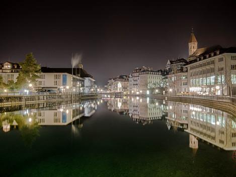 Thun by night - Einstieg in die Nachtfotografie