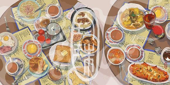 [SMALL] Cha Chaan Teng Meal