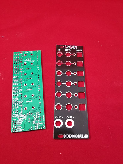 Mute/Mix DIY PCB/Panel set