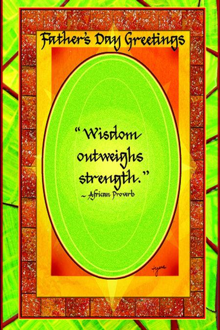 Wisdom Outweighs Strength
