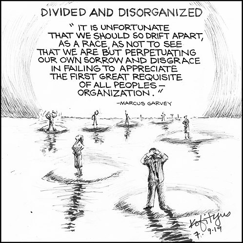 Divided And Disorganized
