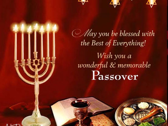 Chag Pesach Sameach-From Our Hands To Yours!