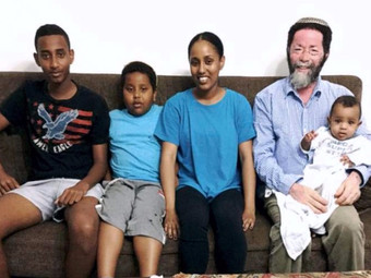 Ethiopian widowed father of 5 grateful for support