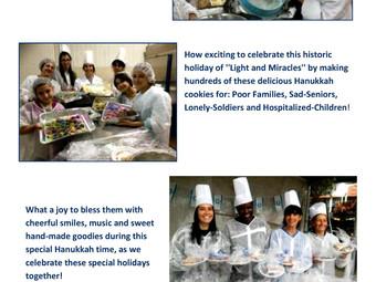 """""""Hanukkah-Cookie Blessings"""""""
