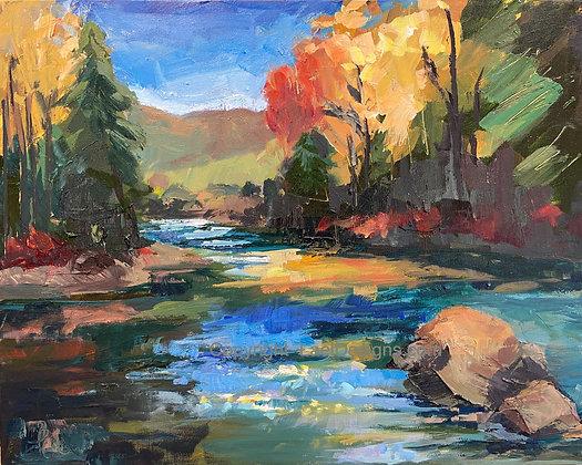 "Boulder Creek - 16x20"""