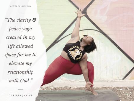 How God met me on my yoga mat…