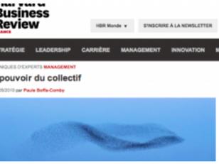 Le pouvoir du collectif - Harvard Business Review France - Chronique de Paule Boffa-Comby- 02/05/19