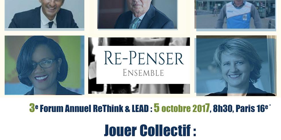 3eme FORUM Annuel ReThink & LEAD