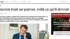 Si Macron était un patron, voilà ce qu'il devrait faire