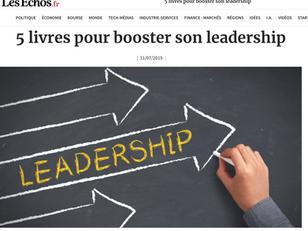 Leader collectif : un des 5 livres conseillés pour booster son leadership - Les Echos - 31/07/19