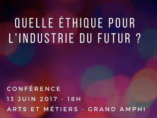 """Conférence Arts et Métiers """"Le manager du futur, éthique et responsable"""" aux côtés d'H"""