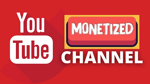 High Quality Monetized YouTube Channel 2021
