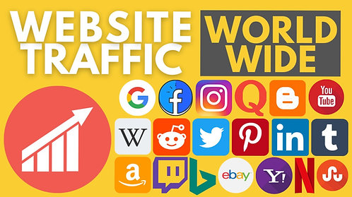 World Wide Website Traffic Real & Organic   Increase Website Traffic