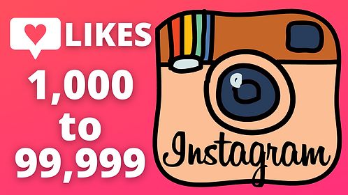 Instagram Likes for Photo Posts, Videos, IGTV and Reels   1000 to 99999 Likes