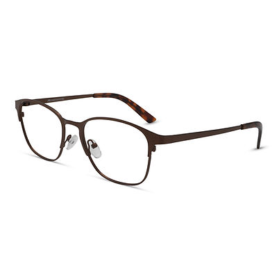 Brown Frame Metal Specs