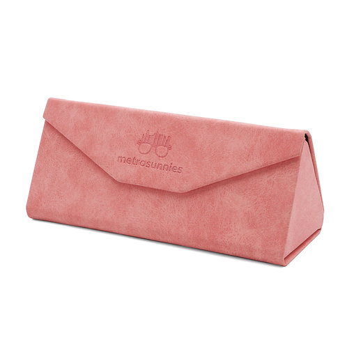 MetroSunnies Caddy Pink Foldable Eyewear Case