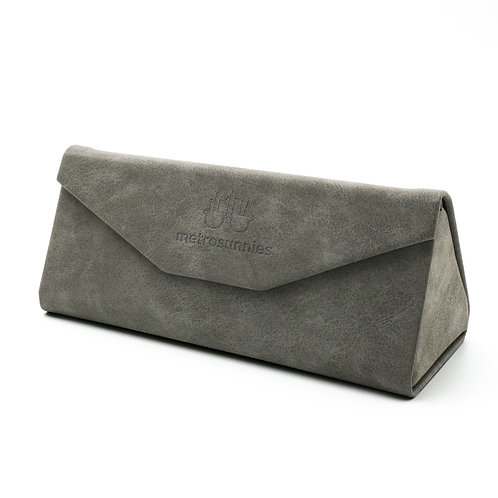 MetroSunnies Caddy Gray Foldable Eyewear Case