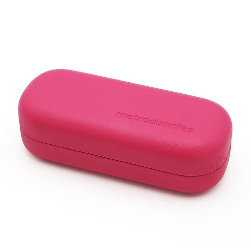 MetroSunnies Charm Hot Pink Eyewear Case