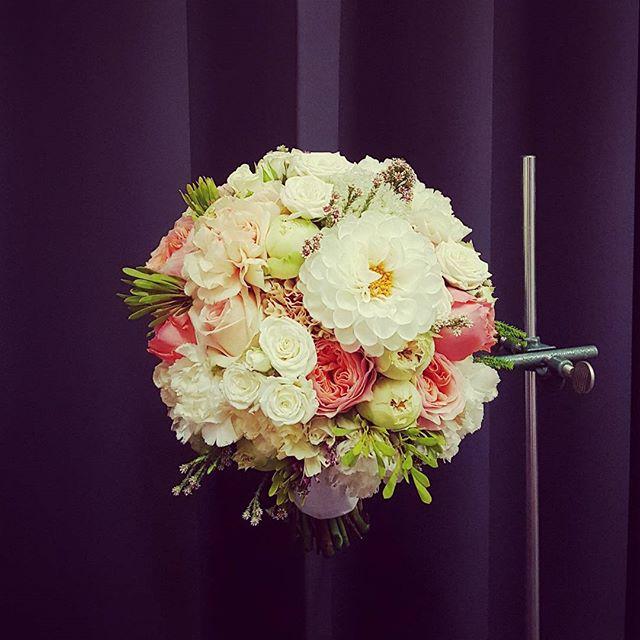 Nuotakos puokštė - rožinės rožės