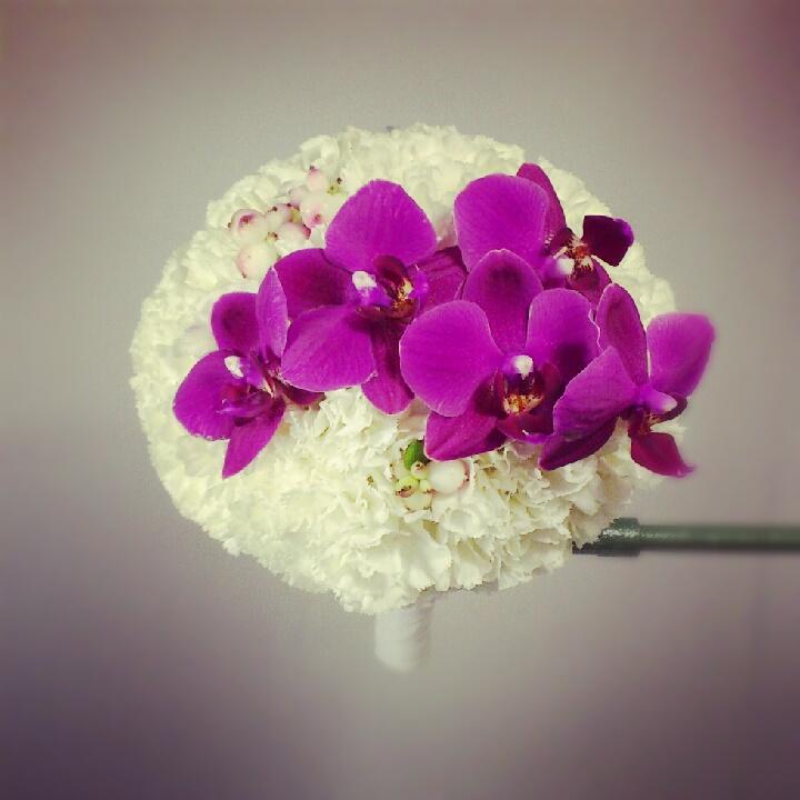 Nuotakos puokštė-ryškios orchidėjos