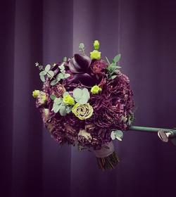 Nuotakos puokštė-violetinės kalijos