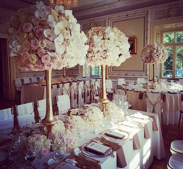 Prabangus vestuvinis dekoras