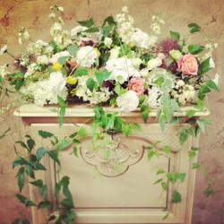 Dekoras gėlėmis