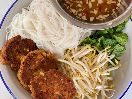 Vegetarian Bun Cha